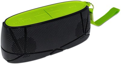 Amkette Trubeats Sonix T30 Portable Bluetooth Mobile/Tablet Speaker(Black-Green, 2.1 Channel)