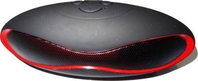 Junaldo HIFI-MINI-Rugby Sound Bluetooth Speaker Portable Bluetooth Mobile/Tablet Speaker(Black, Red, 2.1 Channel)