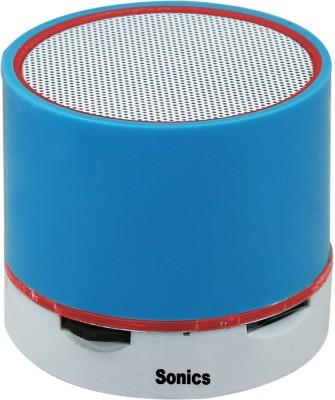 Sonics Mini Speaker Portable Bluetooth Mobile/Tablet Speaker(Blue, Red, 2.1 Channel)