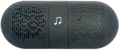 iNext IN 502 FM Portable Bluetooth Mobile/Tablet Speaker(Black, Stereo Channel)
