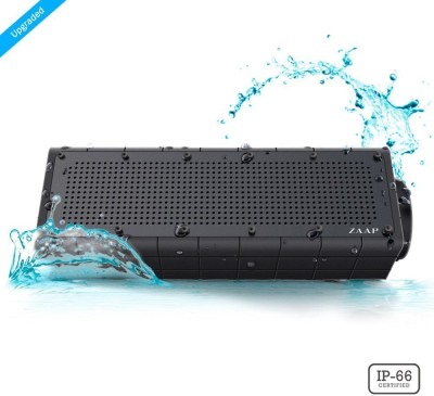 Zaap ZAAPPBS-209 Portable Bluetooth Mobile/Tablet Speaker(Black, Stereo Channel)
