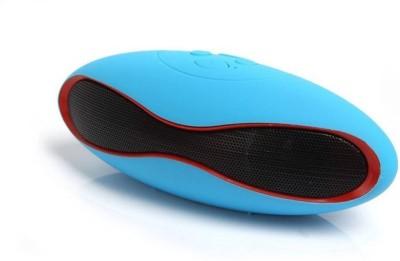 Junaldo Rugby Mini Bluetooth Speaker Portable Bluetooth Portable Bluetooth Mobile/Tablet Speaker(Red, 2.1 Channel)