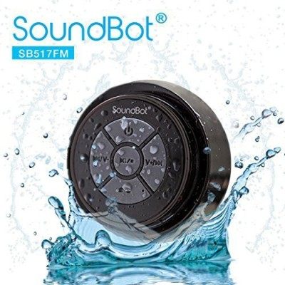 SoundBot SB517FM FM RADIO Bluetooth Wireless Portable Speakerphone Portable Bluetooth Mobile/Tablet Speaker