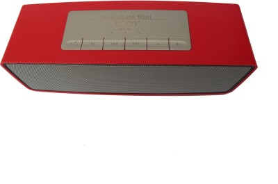 Ubon Bt-40 Bluetooth 990w Pmpo Portable Bluetooth Mobile/Tablet Speaker(Red, 2.1 Channel)