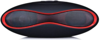 Junaldo Rugby Bluetooth Mini Speaker Portable Bluetooth Mobile/Tablet Speaker(Red, 2.1 Channel)
