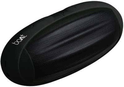 boAt Rugby Portable Bluetooth Mobile/Tablet Speaker(Black, 2.1 Channel Channel)
