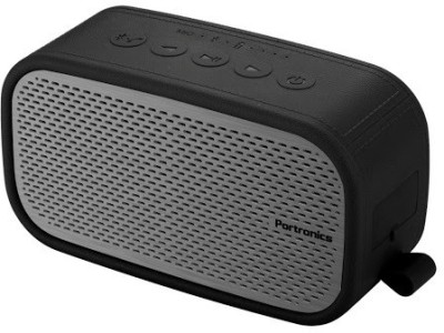 Portronics Posh Portable Bluetooth Mobile/Tablet Speaker(Grey, 2 Channel)