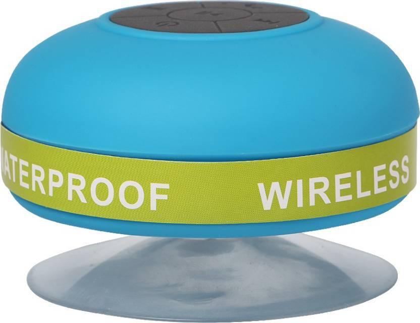 Exmade Waterproof WP18 Portable Bluetooth Laptop/Desktop Speaker(Multicolor, 2.0 Channel)