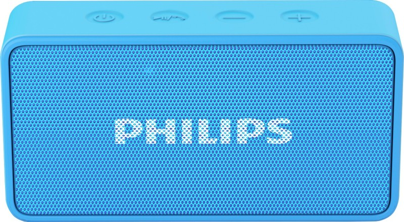 Philips BT64A/94 Portable Bluetooth Mobile/Tablet Speaker(Blue, 1 Channel)