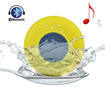 Shopper52 Portable Waterproof Bluetooth Shower Speaker With Suction Cup Mic - WBSS Portable Mobile/Tablet Speaker