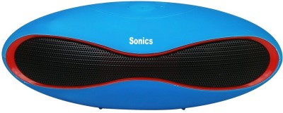 Sonics IN-BT601 Portable Bluetooth Mobile/Tablet Speaker(Blue, Red, Black, 2.1 Channel)