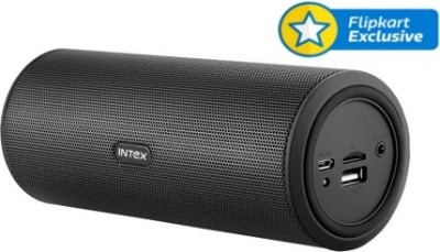 Intex IT-15S BT Portable Bluetooth Mobile/Tablet Speaker(Black, 1 Channel)