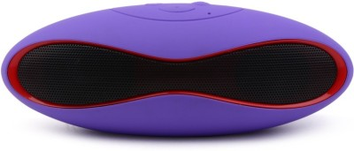LIFE LIKE MH-X6U RUGBY BLUETOOTH SPEAKER WITH TF/USB SUPPORT Portable Bluetooth Mobile/Tablet Speaker