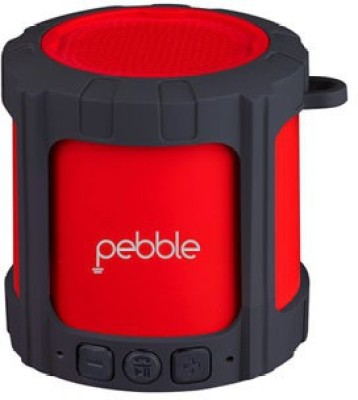 Pebble Pebble BLAST Portable Bluetooth Mobile/Tablet Speaker(Red, Mono Channel)