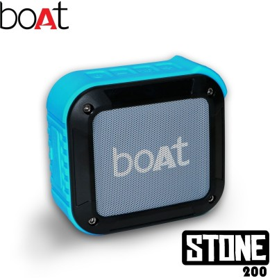 boAt Stone 200 Portable Bluetooth Mobile/Tablet Speaker(Blue, Stereo Channel)