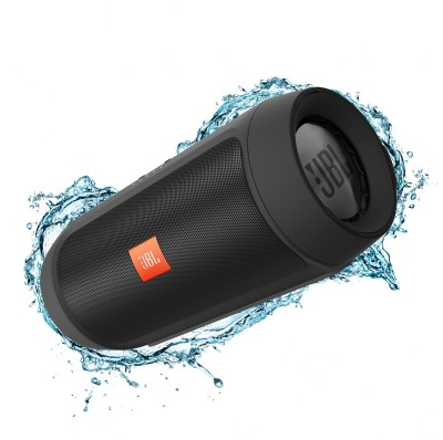 JBL CHARGE 2 PLUS Portable Bluetooth Mobile/Tablet Speaker(BLACK, 2 Channel)
