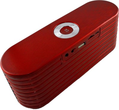 Shopizone Soundlink K9 Portable Bluetooth Mobile/Tablet Speaker(Cherry Red, Stereo Channel)