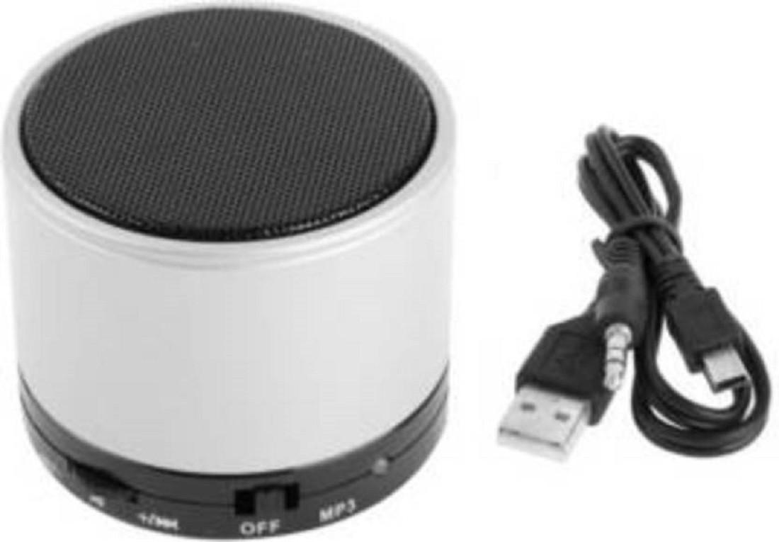 ROOQ s10 wh speaker-017 Portable Bluetooth Mobile/Tablet Speaker(White, 2.1 Channel)