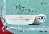 Zazz ZAZZ Power Bank Bluetooth Speaker Z...