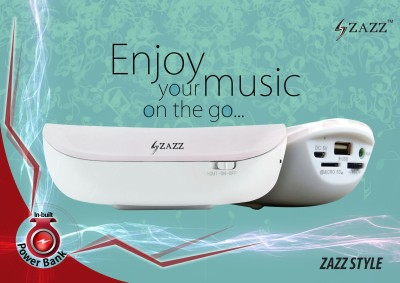 Zazz ZBS136 Power Bank Bluetooth Speaker