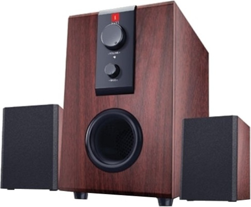 iBall Raaga Q9 Multimedia Speaker(Rosewood, 2.1 Channel)