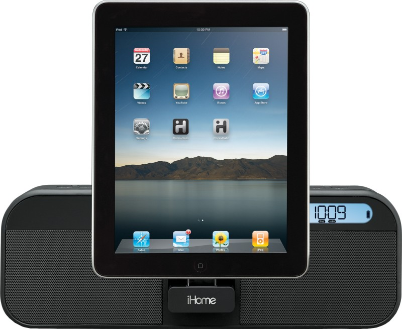 iHome iD28 Speaker for iPad / iPhone / iPod(Black, 1.0 Channel)