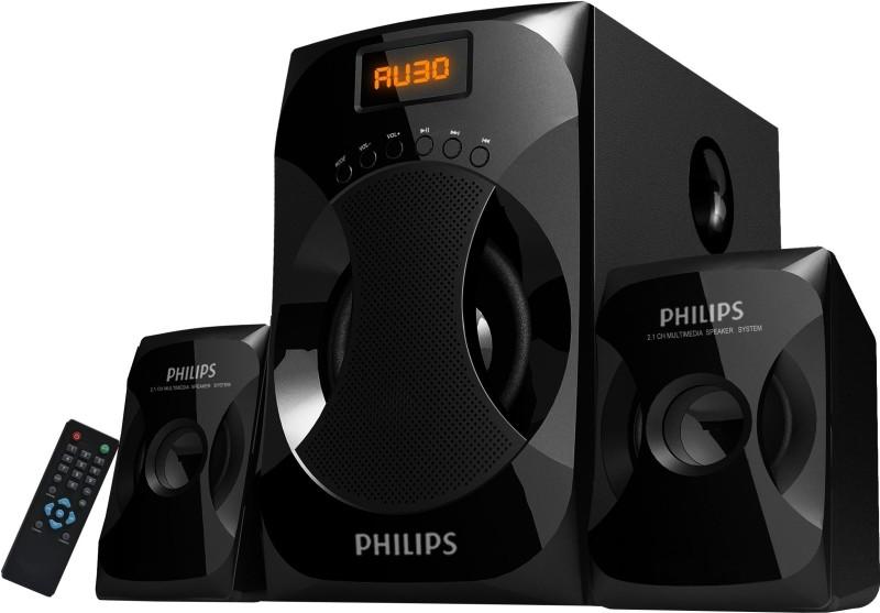 Philips 2.1 Multimedia Speaker System Explode MMS4040F/94(Black, 2.1 Channel)