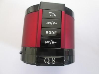 Anwyn Bluetooth Speaker Wireless With Micbluetooth Speaker With Mic - Aw/Ew-Bsq8/ 101 - Red Portable Bluetooth Mobile/Tablet Speaker