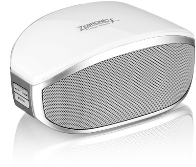 Zebronics ZEB-BT013 Portable Bluetooth Mobile/Tablet Speaker(White, 1.0 Channel)