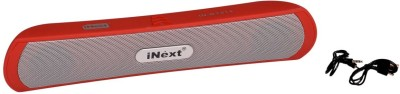 iNext IN-BT514 Portable Bluetooth Soundbar(Red, Stereo Channel)