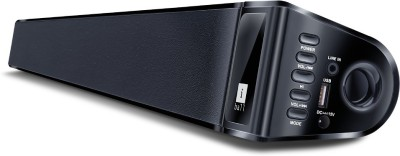 iBall Soundbar BT-10 Bluetooth Soundbar(Black, NA Channel)