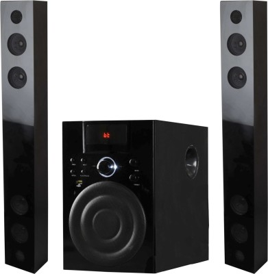 Starc SBC34 Twin Tower Bluetooth Soundbar(Black, 2.1 Channel)