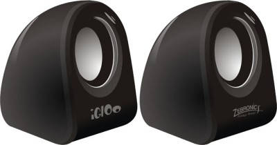 Zebronics Igloo USB Speaker(Black, 2 Channel)