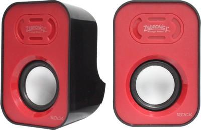 Zebronics Rock 2.0 USB Speaker(Red, 2 Channel)