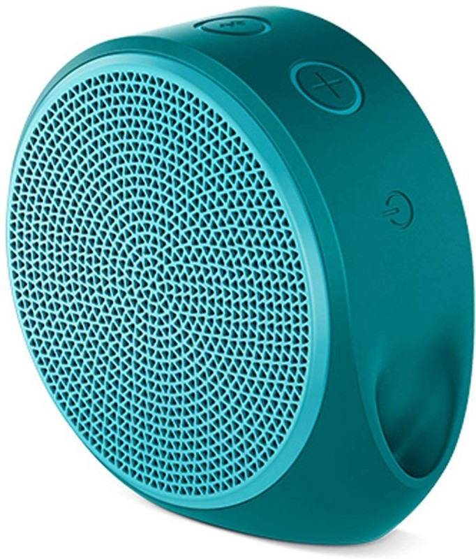 Logitech X100 Portable Bluetooth Mobile/Tablet Speaker(Blue, 1.0 Channel)