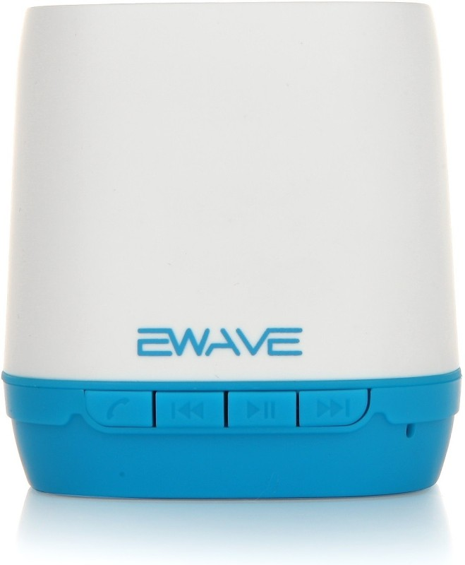 Ewave ES101B Portable Bluetooth Mobile/Tablet Speaker(White & Blue, 1.0 Channel)