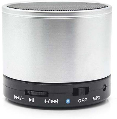 Callmate Sonicten Bluetooth Bluetooth Mobile/Tablet Speaker(Silver, 1.0 Channel)
