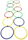 Sahni Sports Agility Ring Ladder Pack Of...
