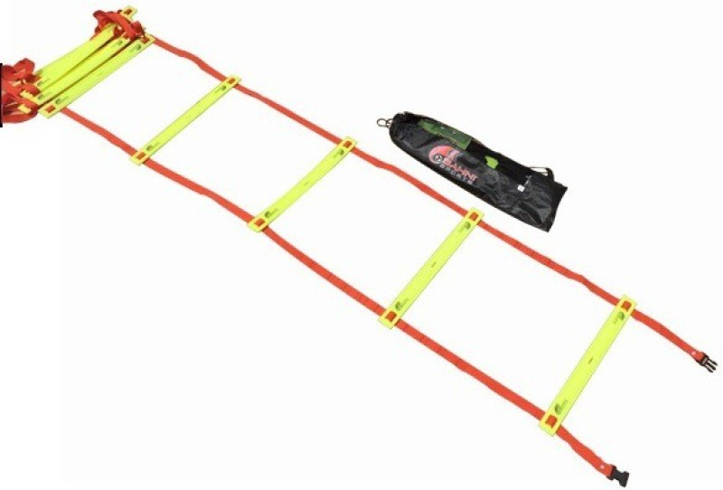 Sahni Sports Agility 4 Mtr Flat Adjutable Premium Speed Ladder( )
