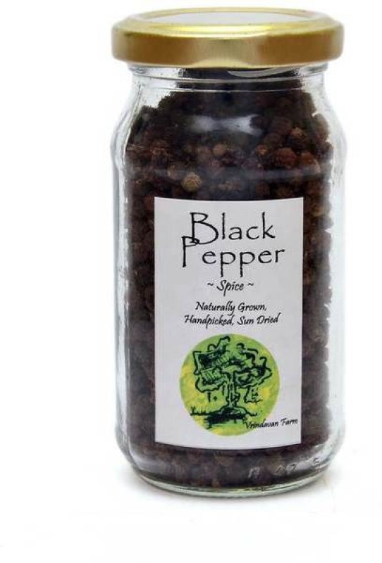 Vrindavan Farms Black Pepper Whole(100 g)
