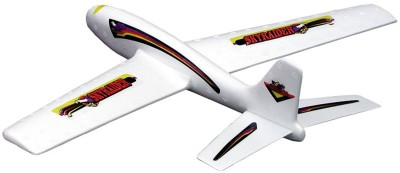 Guillow's 2 Ft Span Skyraider Foam Glider With Hand Launch Action