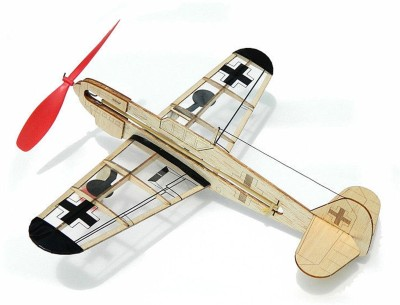 Guillow,s German Fighter Mini Rubber Powered Model Plane