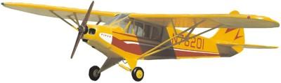 Guillow's Piper Super Cub 95 Authentic Balsaa Wood Flying Collectors Model(Multicolor)