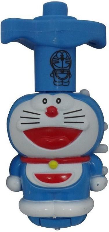 Shopat7 Doraemon Laser Top With LED Lights(Multicolor)