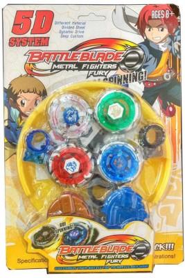 New Pinch 5 D System Customize Battle Top Bayblade with stadium