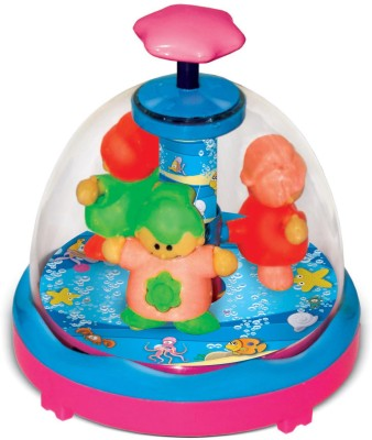Toyzee Press N Spin Spinning Babies(Multicolor)