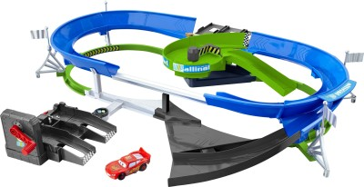Pixar Cars Stunt Racers Double Decker Speedway