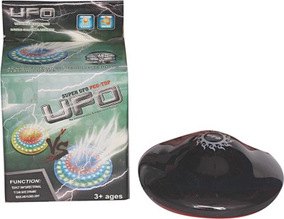 Homeshopeez Super UFO Spinning Top With Lights(Multicolor)