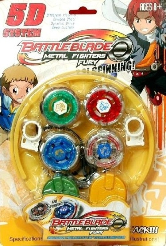 Homeshopeez Battle Blade Metal Fighter Fury(Multicolor)