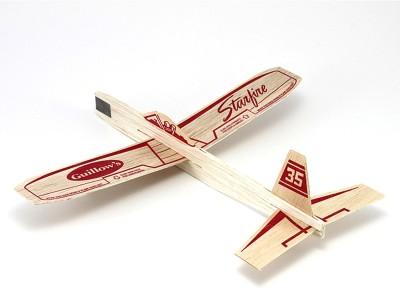 Guillow's Starfire Hand Chuck Soaring Glider Airplane